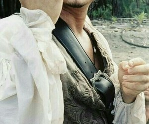 handsome, orlando bloom, and pirates of the caribbean image