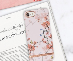 cherry, pink, and iphonecover image