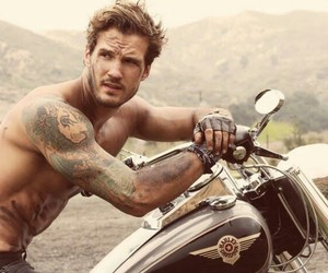 bad boys, motorcycle, and boys image