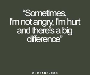 quotes, hurt, and angry image