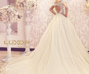 bride dress, luxury wedding, and glamour fashion image