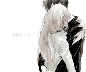 anime and anime couple image