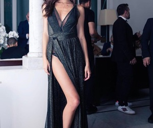 fashion, dress, and sara sampaio image
