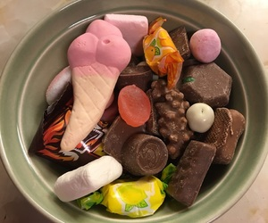 candy, chocolate, and delicious image