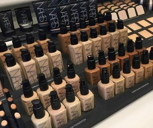 nars, Foundation, and makeup image