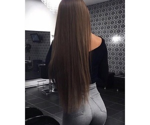 ass, hair, and long hair image