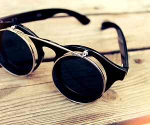 glasses, summer, and sun image