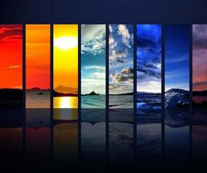 sky, nature, and colorful image