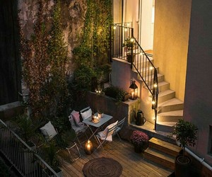 home, light, and garden image