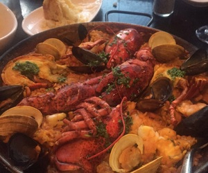 delicious, food, and paella image