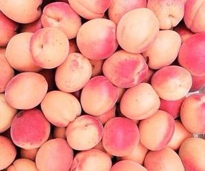 peach, fruit, and peachy image