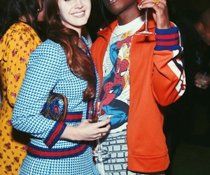 lana del rey, asap rocky, and gucci image
