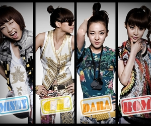 2ne1, band, and girls image