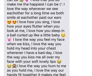 cute texts, cute text messages, and relationship goals image