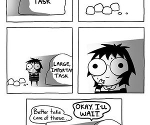 comic, sarah andersen, and funny image