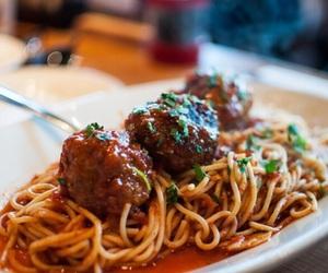 meatballs, food, and food porn image
