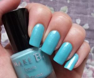 blue, make b., and a garota esmaltada image