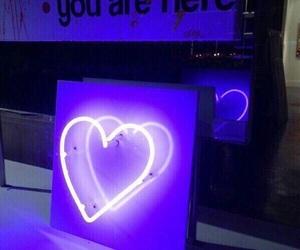 neon, purple, and heart image