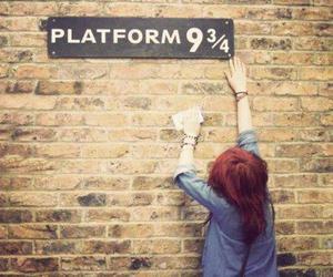 harry potter, platform, and hp image