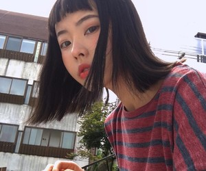 girl, ulzzang, and site model image