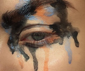 art, eyes, and pretty image