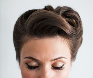 hairstyle and make up image