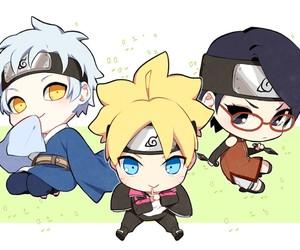 chibi, kawaii, and naruto image