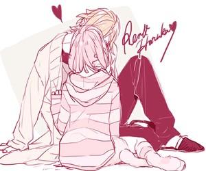 anime, anime couple, and uta no prince-sama image