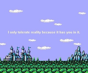 love, frases, and pixel image