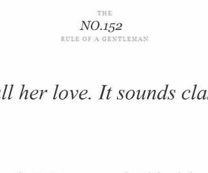 love, classy, and quotes image
