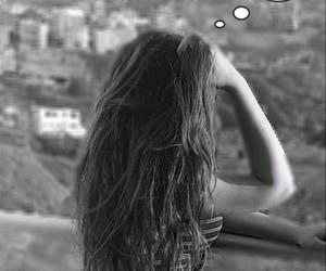 beautiful, gray, and long hair image
