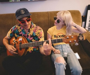 farro, hayley williams, and paramore image