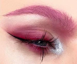 beauty, eye, and makeup image
