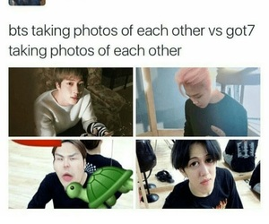 bts, got7, and jin image