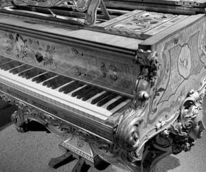 piano, music, and victorian image