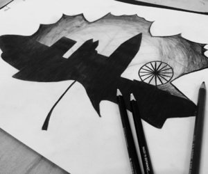 autum, inspiration, and draw image