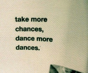 dance and chance image