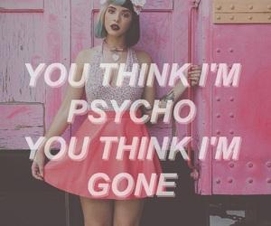 melanie martinez, mad hatter, and Psycho image