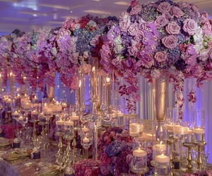 candles, centerpiece, and decoration image