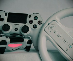 console, gamer, and gaming image