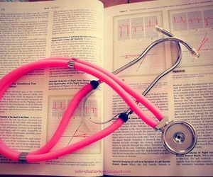 medicine, doctor, and book image