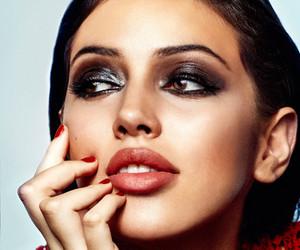 brunette, glamour, and model image
