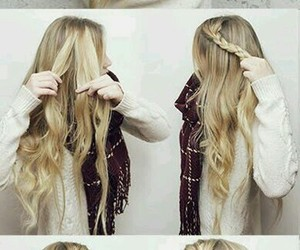 hairstyles, cute hairstyles, and simple hairstyles image