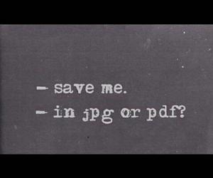 jpg, pdf, and saving image