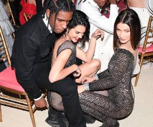 kendall jenner, bella hadid, and asap rocky image