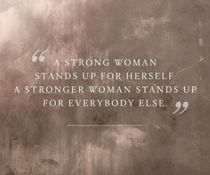 strong, woman, and empowerment image
