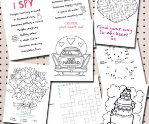 children, printable, and wedding image