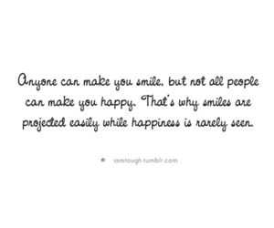 quote, typography, and happiness image