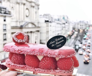 food, paris, and pink image