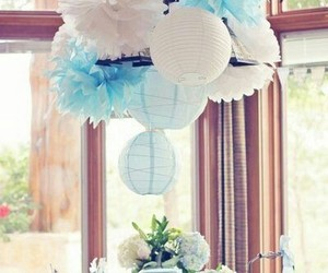 boy, decorations, and baby shower image